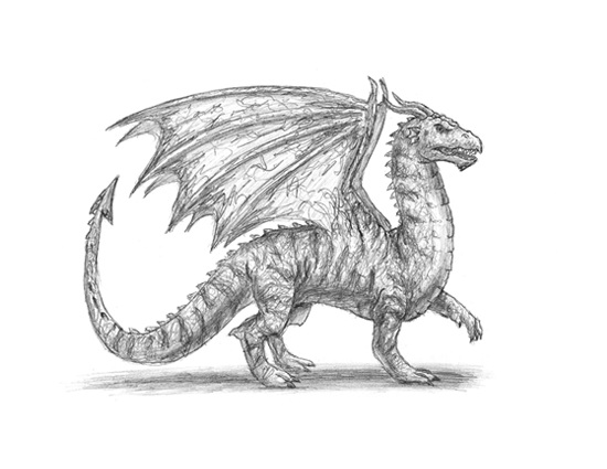 how to draw realistic mythical creatures
